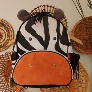 Skip*hop toddler backpack -zebra